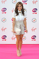 NON EXCLUSIVE PICTURE: PAUL TREADWAY / MATRIXPICTURES.CO.UK<br /> PLEASE CREDIT ALL USES<br /> <br /> WORLD RIGHTS<br /> <br /> British TV presenter Zoe Hardman attending the WTA Pre Wimbledon Party, at London's Kensington Roof Gardens.<br /> <br /> 20th JUNE 2013<br /> <br /> REF: PTY 134225