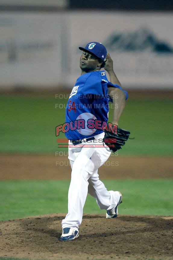 Daigoro Rondon - Ogden Raptors (2009 Pioneer League) playing against the Missoula Osprey at Lindquist Field, Ogden, UT - 08/22/2009..Photo by:  Bill Mitchell/Four Seam Images..