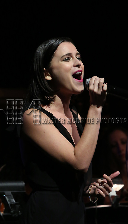 Alexandra Socha on stage at the  2017 Dramatists Guild Foundation Gala presentation at Gotham Hall on November 6, 2017 in New York City.