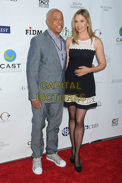 21 May 2015 - Los Angeles, California - Russell Simmons, Mira Sorvino. 17th Annual CAST From Slavery to Freedom Gala held at The Skirball Center.  <br /> CAP/ADM/BP<br /> &copy;Byron Purvis/AdMedia/Capital Pictures