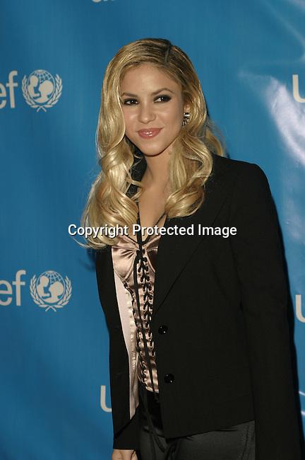 Shakira<br />UNICEF Goodwill Gala to Celebrate 50 Years of Celebrity Advocacy <br />Beverly Hilton Hotel<br />Beverly Hills, CA, USA<br />December 3, 2003 <br />Photo By Celebrityvibe.com/Photovibe.com