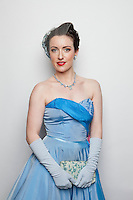 Caroline Thorburn is pictured at The 2012 Historic Houses Trust of NSW annual Fifties Fair at Rose Seidler House, Sydney. Picture James Horan