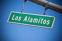 Los Alamitos Street Sign