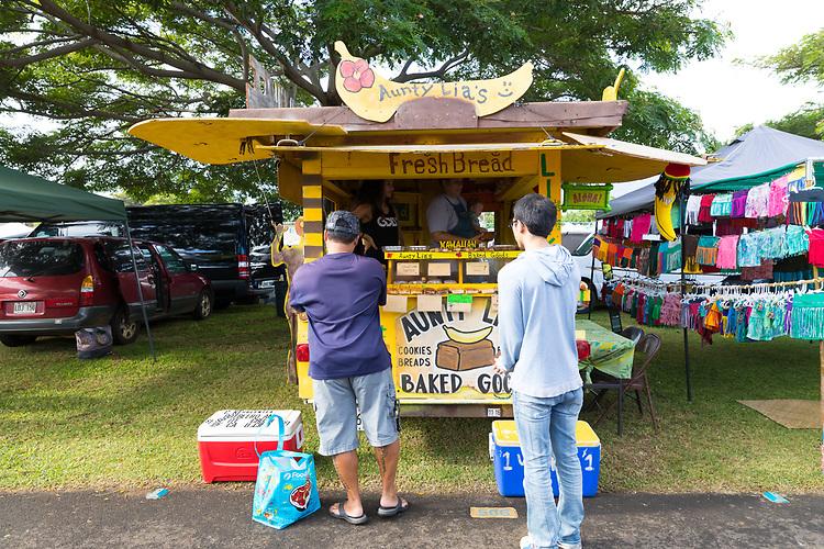 Maui Swap Meet, a weekly farmers' market on the island of Maui, Kahului, HI