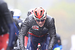 Riders including Tim Wellens (BEL) tackle the 9 laps of the Harrogate circuit during the Men Elite Road Race of the UCI World Championships 2019 running 261km from Leeds to Harrogate, England. 29th September 2019.<br /> Picture: Eoin Clarke | Cyclefile<br /> <br /> All photos usage must carry mandatory copyright credit (© Cyclefile | Eoin Clarke)