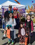 The Hayes family during Pumpkin Palooza in Sparks, Nevada on Sunday, Oct. 22, 2017.