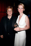 Cynthia Nixon & Partner Christine Marinoni  in the press room at the 60th Annual Tony Awards held at Radio City Music Hall in New York City. June 11, 2006.