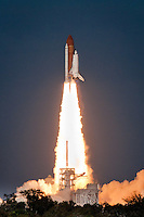 Final launch for Discovery, the world's most traveled spaceship, Kennedy Space Center, Cape Canaveral, Florida, USA, Feb. 24, 2011. Photo by Debi Pittman Wilkey Discovery will be the first  space shuttle to retire from NASA's fleet, first launched in 1984