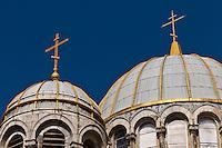 Europe/France/Aquitaine/64/Pyrénées-Atlantiques/Pays-Basque/Biarritz: Dome de  L'église orthodoxe russe, Biarritz