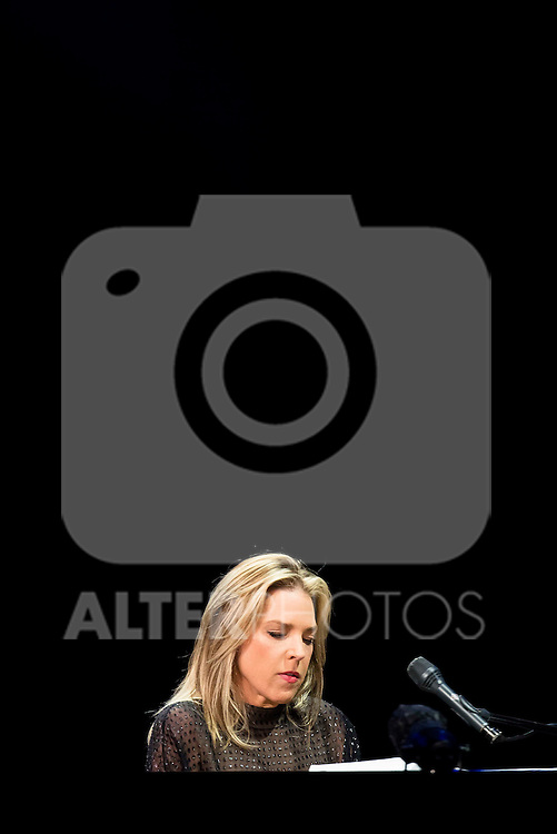 Diana Krall in concert at the Teatro Real in Madrid. July 76. 2016. (ALTERPHOTOS/Borja B.Hojas)