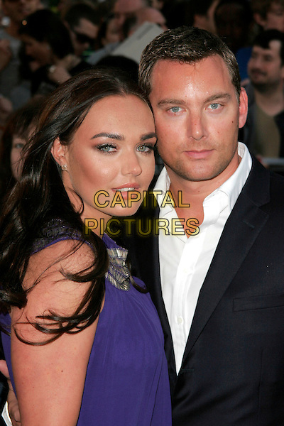 "TAMARA ECCLESTONE & ROBERT MONTAQUE.""State of Play"" World Film Premiere at Empire cinema, Leicester Square, London, England. .April 21st, 2009 .headshot portrait purple black suit jacket white shirt couple .CAP/AH.©Adam Houghton/Capital Pictures."