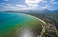 Aerial of Kailua Bay