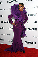 BROOKLYN, NY - NOVEMBER 13: Iman  at Glamour's 2017 Women Of The Year Awards at the Kings Theater in Brooklyn, New York City on November 13, 2017. <br /> CAP/MPI/JP<br /> &copy;JP/MPI/Capital Pictures
