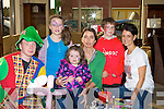 FAMILY: Moriarty's Furniture Shop Laran, Killorglin, held a family day in their store on Sunday enjoying the face painting : L-r: Dane Fitzpatrick, Ellen and Brenda O'Mahony, Page Fitzpatrick, James Fitzpatrick (Scartaglin) and Nikki Roberts (Killorglin)........ ..........