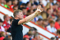 AFC Bournemouth Manager Eddie Howe during AFC Bournemouth vs Manchester City, Premier League Football at the Vitality Stadium on 25th August 2019