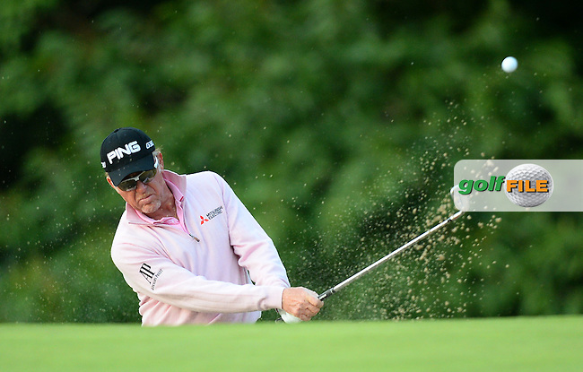 Miguel Angel Jimenez of Spain during the Third Round of The Senior Open at Sunningdale Golf Club, Sunningdale, England. Picture: Golffile | Richard Martin-Roberts<br /> All photo usage must carry mandatory copyright credit (&copy; Golffile | Richard Martin- Roberts)