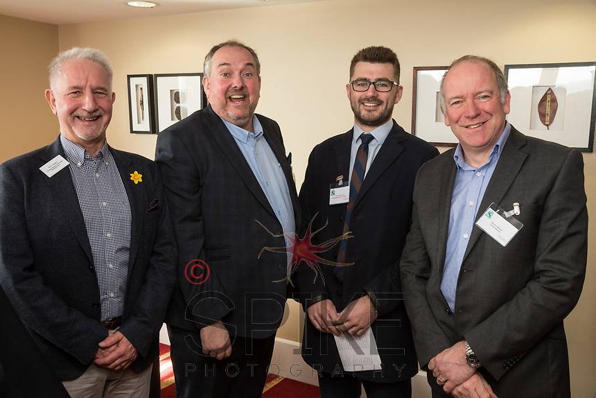 Pictured from left are Parry Leggett of George Square Financial Management, Richard Cooper of Jamieson Christie Wealth Magement, Adam Kingswood of Kingswood Residental Investment Management and David Stewart of In Residence