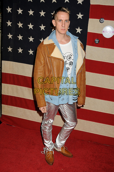 WET HOLLYWOOD, CA., - NOVEMBER 01: Jeremy Scott at Nylon + Wildfox November Issue Party 2013 held at the Sunset Marquis Hotel on November 1st, 2013 in West Hollywood, California, USA.<br /> CAP/ADM/BP<br /> &copy;Byron Purvis/AdMedia/Capital Pictures