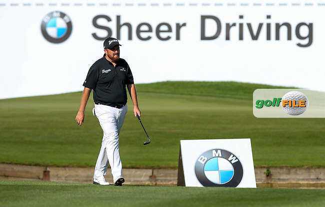 Watching on the TV  the Martin Kaymer (GER) sago on the 18th unfold is sl/ during Round Two of the 2015 BMW International Open at Golfclub Munchen Eichenried, Eichenried, Munich, Germany. 26/06/2015. Picture David Lloyd | www.golffile.ie