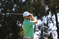 Trevor Fisher Jnr (RSA) on the 3rd tee during Round 3 of the Rocco Forte Sicilian Open 2018 played at Verdura Resort, Agrigento, Sicily, Italy on Saturday 12th May 2018.<br /> Picture:  Thos Caffrey / www.golffile.ie<br /> <br /> All photo usage must carry mandatory copyright credit (&copy; Golffile   Thos Caffrey)