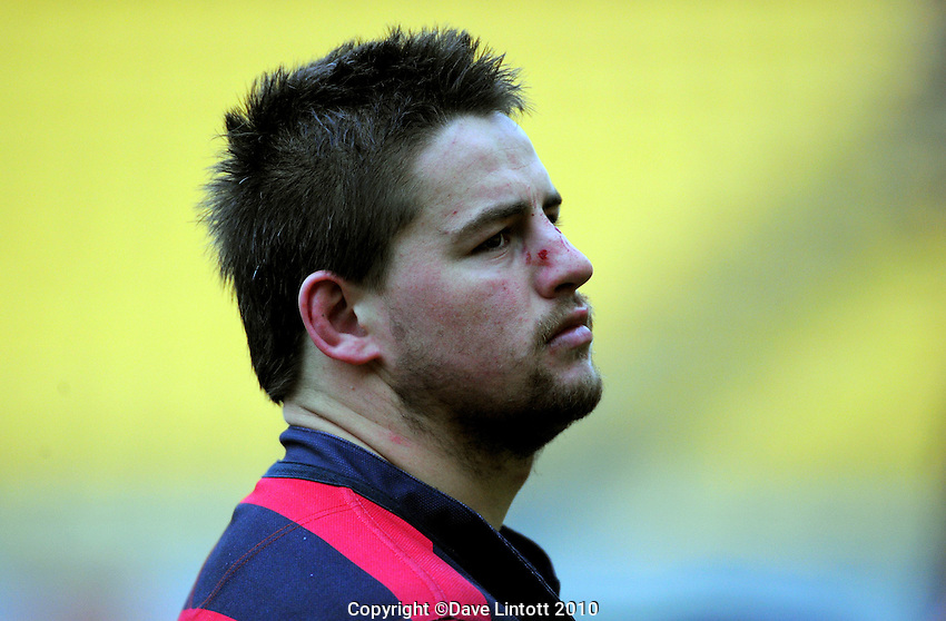 Poneke hooker Dane Coles after the loss. Wellington club rugby Jubilee Cup final between Northern United and Poneke at Westpac Stadium, Wellington, New Zealand on Sunday, 15 August 2010. Photo: Dave Lintott/lintottphoto.co.nz