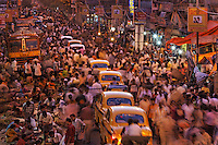 Crowds on the streets of Calcutta.  And Friday 130PM Call to Prayer at a Mosque near the Hindu Newspaper.