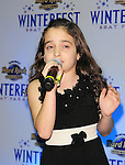 HOLLYWOOD, FL - DECEMBER 09: Julia Dale performs at the Seminole Hard Rock Winterfest Boat Parade 2011 Grand Marshal reception at Seminole Hard Rock Hotel on December 9, 2011 in Hollywood, Florida. (Photo by Johnny Louis/jlnphotography.com)