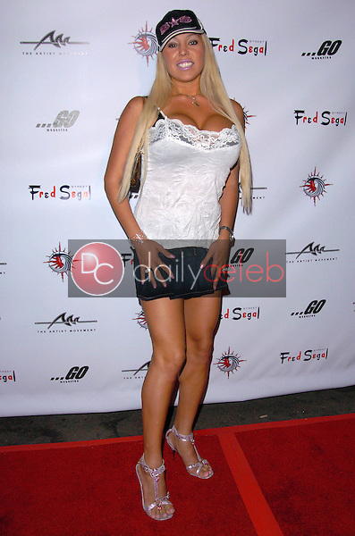 Mary Carey<br /> at the Fred Segal Arctic Summer Fashion Event, The Day After, Hollywood, CA 06-25-05<br /> Chris Wolf/DailyCeleb.com 818-249-4998