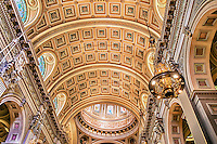 Ceiling, Cathedral Basilica of SS. Peter and Paul, Philadelphia, PA. 1864