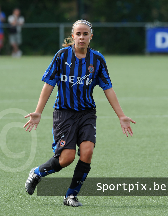 Dames Club Brugge : Nina Vindevoghel.foto VDB / BART VANDENBROUCKE