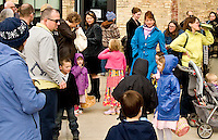 Easter egg hunt and spring brunch at the Goodman Community Center on Sunday, April 24, 2011, in Madison, Wisconsin