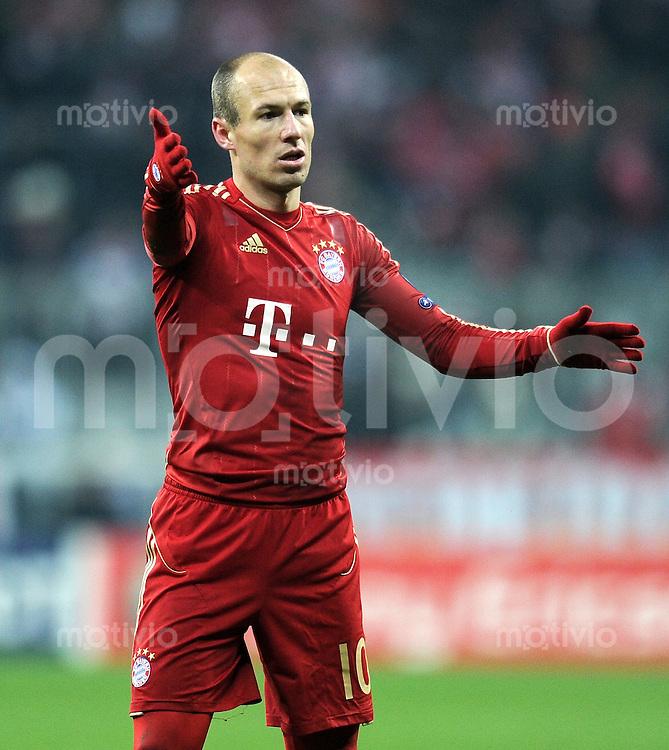 FUSSBALL   CHAMPIONS LEAGUE   SAISON 2011/2012     22.11.2011 FC Bayern Muenchen - FC Villarreal Arjen Robben (FC Bayern Muenchen)