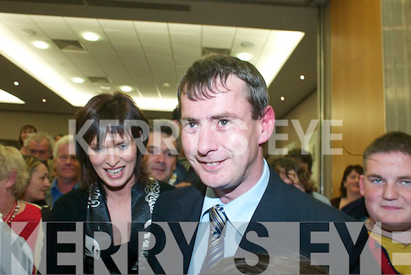 The South Kerry count in The Malton Hotel, Killarney, on Friday Tom Sheahan (FG)