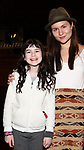 Savvy Crawford and Phillipa Soo during the Actors' Equity Broadway Opening Night Gypsy Robe Ceremony honoring Manoel Felciano for 'Amelie' at the Walter Kerr Theatre on April 3, 2017 in New York City