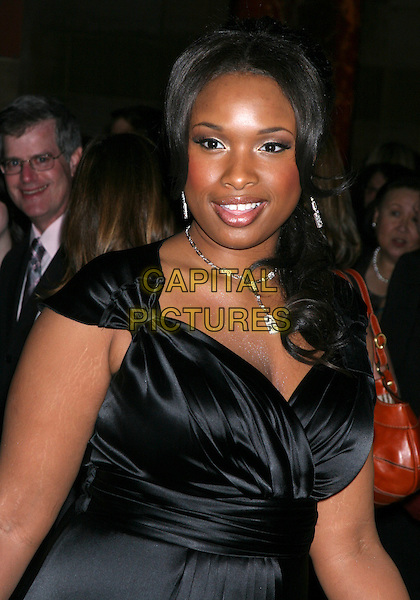 JENNIFER HUDSON.The 2006 National Board Of Review Awards Gala at Cipriani 42nd Street in New York City, New York, USA..January 9th, 2007.half length black.CAP/IW.©Ian Wilson/Capital Pictures