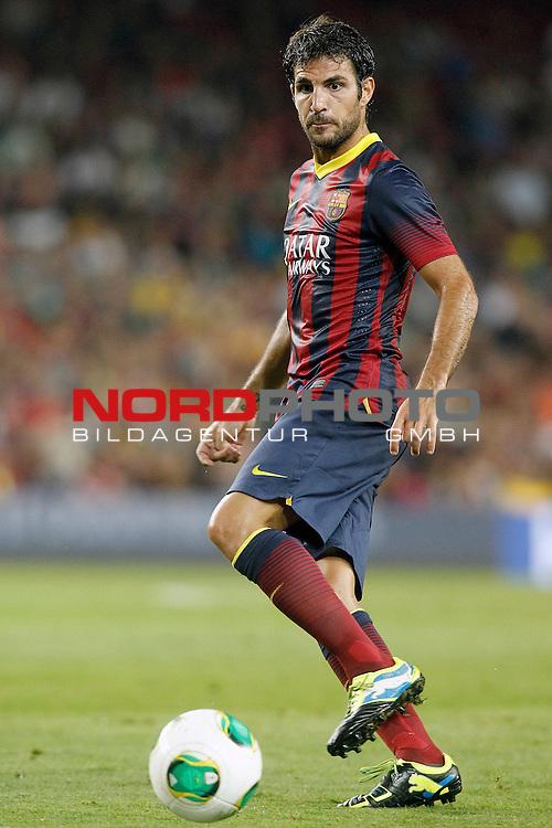 FC Barcelona's Cesc Fabregas during Supercup of Spain 2nd match.August 28,2013. Foto © nph / Acero)
