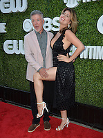 LOS ANGELES, CA. August 10, 2016: Alan Thicke &amp; wife Tanya Callau at the CBS &amp; Showtime Annual Summer TCA Party with the Stars at the Pacific Design Centre, West Hollywood. <br /> Picture: Paul Smith / Featureflash