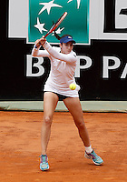 La statunitense Christina McHale in azione nel corso degli Internazionali d'Italia di tennis a Roma, 12 maggio 2016.<br /> United States' Christina McHale returns the ball to her compatriot Serena WIlliams at the Italian Open tennis tournament in Rome, 12 May 2016.<br /> UPDATE IMAGES PRESS/Isabella Bonotto