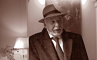 Tahar Ben Jelloun; author maroccan. Live a Paris. Prize Grinzane Cavour 2009. Torin 24 january 2009. © Leonardo Cenndamo