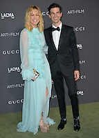LOS ANGELES, CA. October 29, 2016: Actress Brie Larson &amp; fiance singer Alex Greenwald at the 2016 LACMA Art+Film Gala at the Los Angeles County Museum of Art.<br /> Picture: Paul Smith/Featureflash/SilverHub 0208 004 5359/ 07711 972644 Editors@silverhubmedia.com