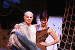 "Eddie Korbich & Colleen Zenk - ""Poseidon & Anticleia"" at Opening Night of Odyssey - The Epic Musical starring Colleen Zenk, Edddie Korbich, Josh A. Davis, Emma Zaks and Janine DiVita and cast on October 23, 2011 at the American Theatre of Actors, New York City, New York. (Photo by Sue Coflin/Max Photos)"