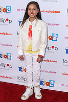 "BURBANK, CA, USA - APRIL 26: Breanna Yde at the Lollipop Theater Network's Night Under The Stars Screening Of Twentieth Century Fox's ""Rio 2"" Hosted by Anne Hathaway held at Nickelodeon Animation Studios on April 26, 2014 in Burbank, California, United States. (Photo by Xavier Collin/Celebrity Monitor)"