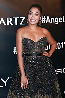 NEW YORK, NY - OCTOBER 23: La La Anthony at Gabrielle's Angel Foundation for Cancer Research  Angel Ball 2017 on October 23, 2017 in New York City. Credit: Diego Corredor/MediaPunch /NortePhoto.com