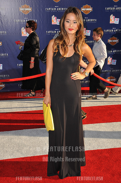 "Jamie Chung at the premiere of ""Captain America: The First Avenger"" at the El Capitan Theatre, Hollywood..July 19, 2011  Los Angeles, CA.Picture: Paul Smith / Featureflash"