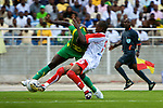 Simba versus Yanga Bomba football teams in Dar Es Salaam, Tanzania on Sunday, October 26, 2008. Yanga won the match 1-0.