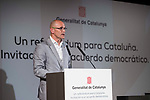 External Counselor Raul Romeva attends to conference at Madrid Town Hall, May 22, 2017. Spain.<br /> (ALTERPHOTOS/BorjaB.Hojas)