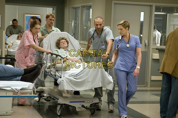 MERRITT WEVER, HAZZ SLEIMAN & EDIE FALCO.in Nurse Jackie (Season 1).Episode 5.*Filmstill - Editorial Use Only*.CAP/FB.Supplied by Capital Pictures.