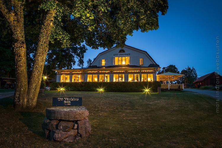 Utö Värdshus en sommarnatt i Stockholms skärgård