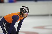 SCHAATSEN: HEERENVEEN: 02-10-2014, IJsstadion Thialf, Topsporttraining, Sjinkie Knegt, ©foto Martin de Jong