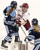 Emilie Brigham (Maine - 12), Grace Bizal (BC - 2) - The Boston College Eagles defeated the visiting University of Maine Black Bears 2-1 on Saturday, October 8, 2016, at Kelley Rink in Conte Forum in Chestnut Hill, Massachusetts.  The University of North Dakota Fighting Hawks celebrate their 2016 D1 national championship win on Saturday, April 9, 2016, at Amalie Arena in Tampa, Florida.